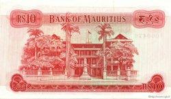 10 Rupees ÎLE MAURICE  1967 P.31c pr.NEUF