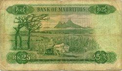 25 Rupees ÎLE MAURICE  1967 P.32b B