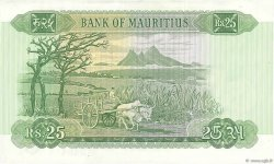 25 Rupees ÎLE MAURICE  1967 P.32b SUP