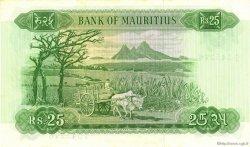 25 Rupees ÎLE MAURICE  1967 P.32b pr.NEUF