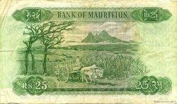 25 Rupees ÎLE MAURICE  1967 P.32b TTB