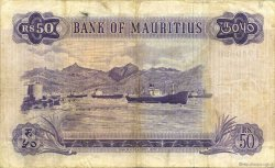 50 Rupees ÎLE MAURICE  1967 P.33b TB