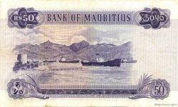 50 Rupees ÎLE MAURICE  1967 P.33b TTB