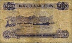 50 Rupees ÎLE MAURICE  1967 P.33c B