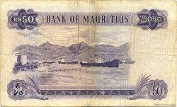 50 Rupees ÎLE MAURICE  1967 P.33c TB+