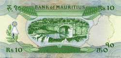 10 Rupees ÎLE MAURICE  1985 P.35a SUP