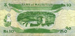 10 Rupees ÎLE MAURICE  1985 P.35b pr.TTB