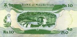 10 Rupees ÎLE MAURICE  1985 P.35b TTB à SUP