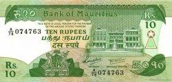 10 Rupees ÎLE MAURICE  1985 P.35b pr.NEUF