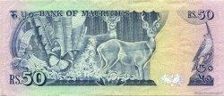 50 Rupees ÎLE MAURICE  1986 P.37b TTB