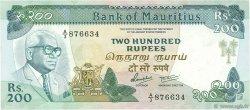 200 Rupees ÎLE MAURICE  1985 P.39b SUP+