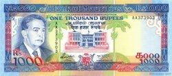 1000 Rupees ÎLE MAURICE  1991 P.41 SPL+