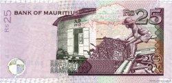 25 Rupees ÎLE MAURICE  2006 P.49var NEUF