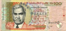 100 Rupees ÎLE MAURICE  1999 P.51a TTB