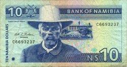 10 Dollars NAMIBIE  1993 P.01 pr.TTB