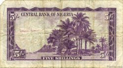 5 Shillings NIGERIA  1958 P.02 pr.TB
