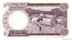 5 Shillings NIGERIA  1967 P.06 pr.NEUF