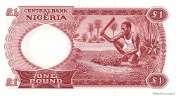 1 Pound NIGERIA  1967 P.08 pr.NEUF
