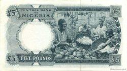 5 Pounds NIGERIA  1967 P.09 SPL