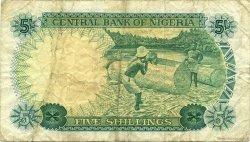 5 Shillings NIGERIA  1968 P.10a TB