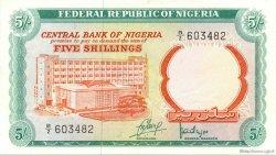 5 Shillings NIGERIA  1968 P.10a SUP