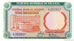 5 Shillings NIGERIA  1968 P.10a NEUF