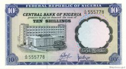 10 Shillings NIGERIA  1968 P.11a pr.NEUF