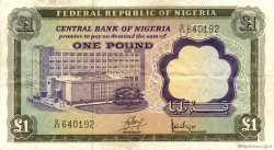 1 Pound NIGERIA  1968 P.12a TTB
