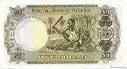 1 Pound NIGERIA  1968 P.12a SUP
