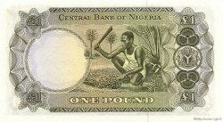 1 Pound NIGERIA  1968 P.12a pr.NEUF