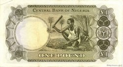 1 Pound NIGERIA  1968 P.12b TTB+
