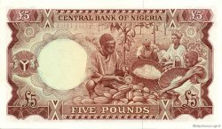5 Pounds NIGERIA  1968 P.13a pr.NEUF