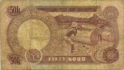 50 Kobo NIGERIA  1973 P.14b B+