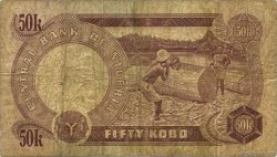 50 Kobo NIGERIA  1973 P.14d B