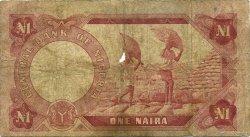 1 Naira NIGERIA  1973 P.15a B