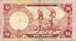 1 Naira NIGERIA  1973 P.15a TB+
