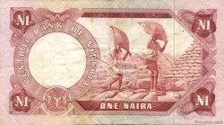 1 Naira NIGERIA  1973 P.15a TTB