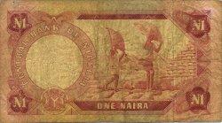1 Naira NIGERIA  1973 P.15b B