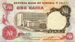 1 Naira NIGERIA  1973 P.15b TTB