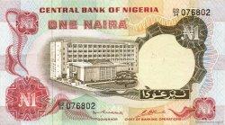 1 Naira NIGERIA  1973 P.15b SUP