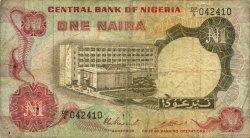 1 Naira NIGERIA  1973 P.15c B