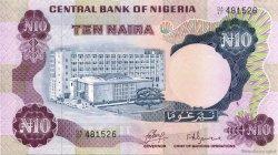10 Naira NIGERIA  1973 P.17a NEUF