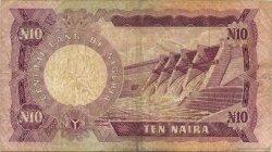 10 Naira NIGERIA  1973 P.17c TB