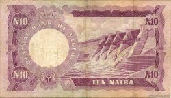 10 Naira NIGERIA  1973 P.17c TB+