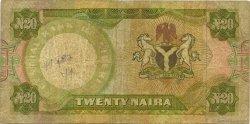 20 Naira NIGERIA  1977 P.18b B