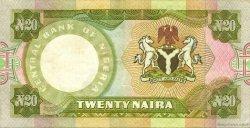 20 Naira NIGERIA  1977 P.18b SUP