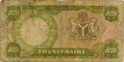 20 Naira NIGERIA  1977 P.18c B