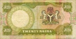 20 Naira NIGERIA  1977 P.18c TTB
