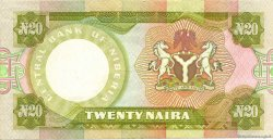 20 Naira NIGERIA  1977 P.18c SUP