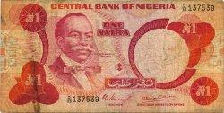 1 Naira NIGERIA  1979 P.19a B
